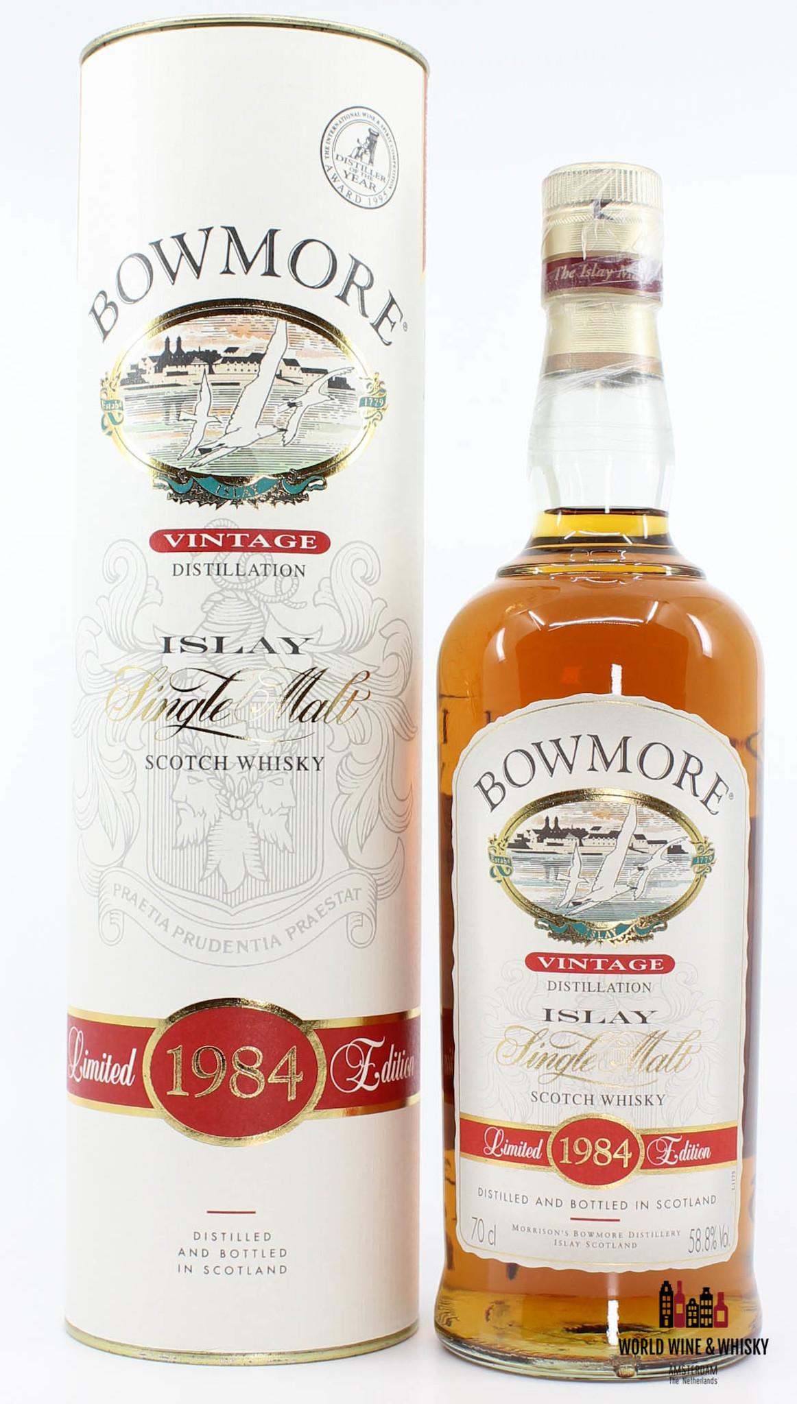 Bowmore Bowmore Vintage 1984 58.8%