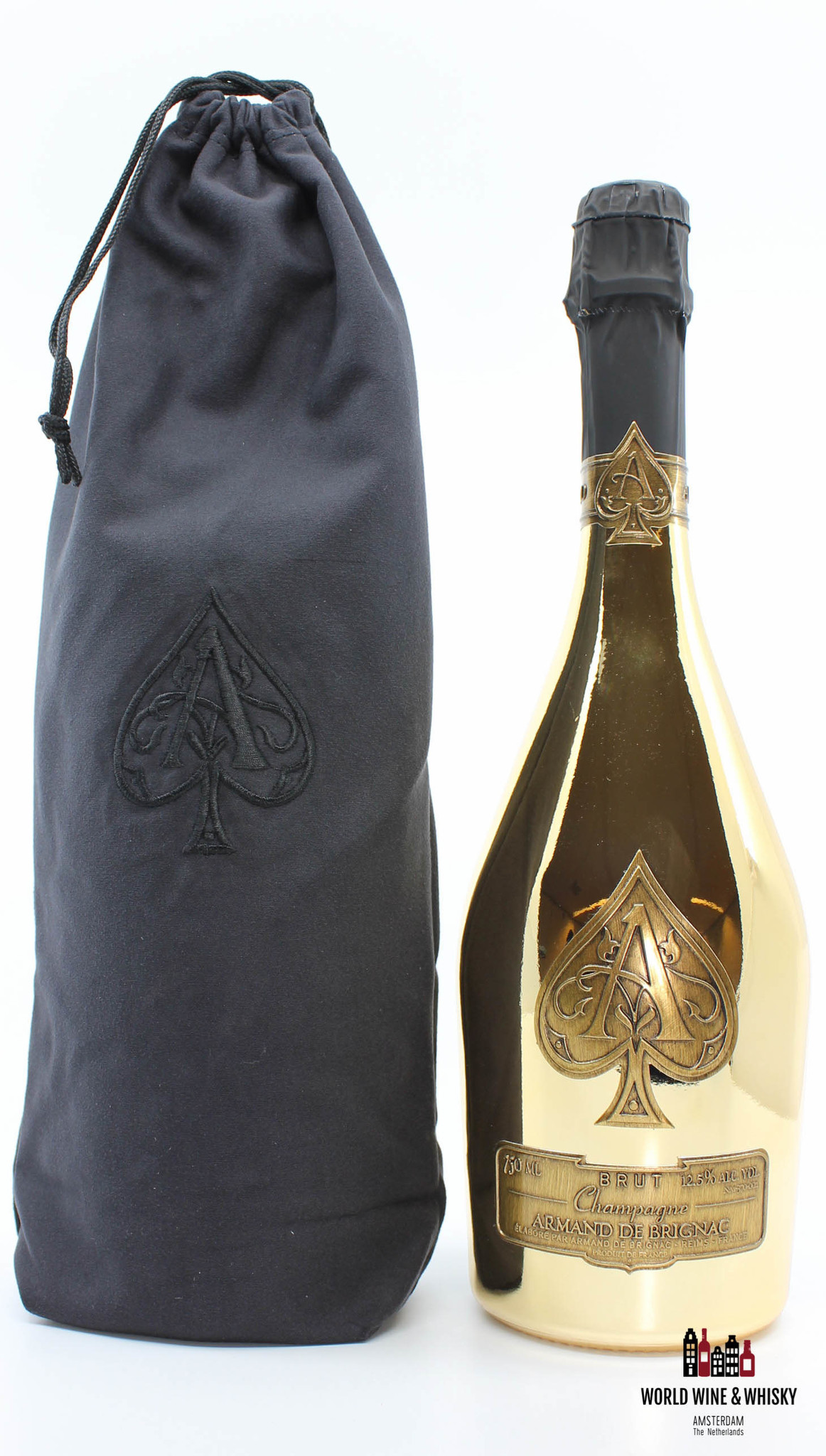 Armand de Brignac Armand de Brignac Gold Champagne Brut 12.5% - in velvet bag (750 ml)