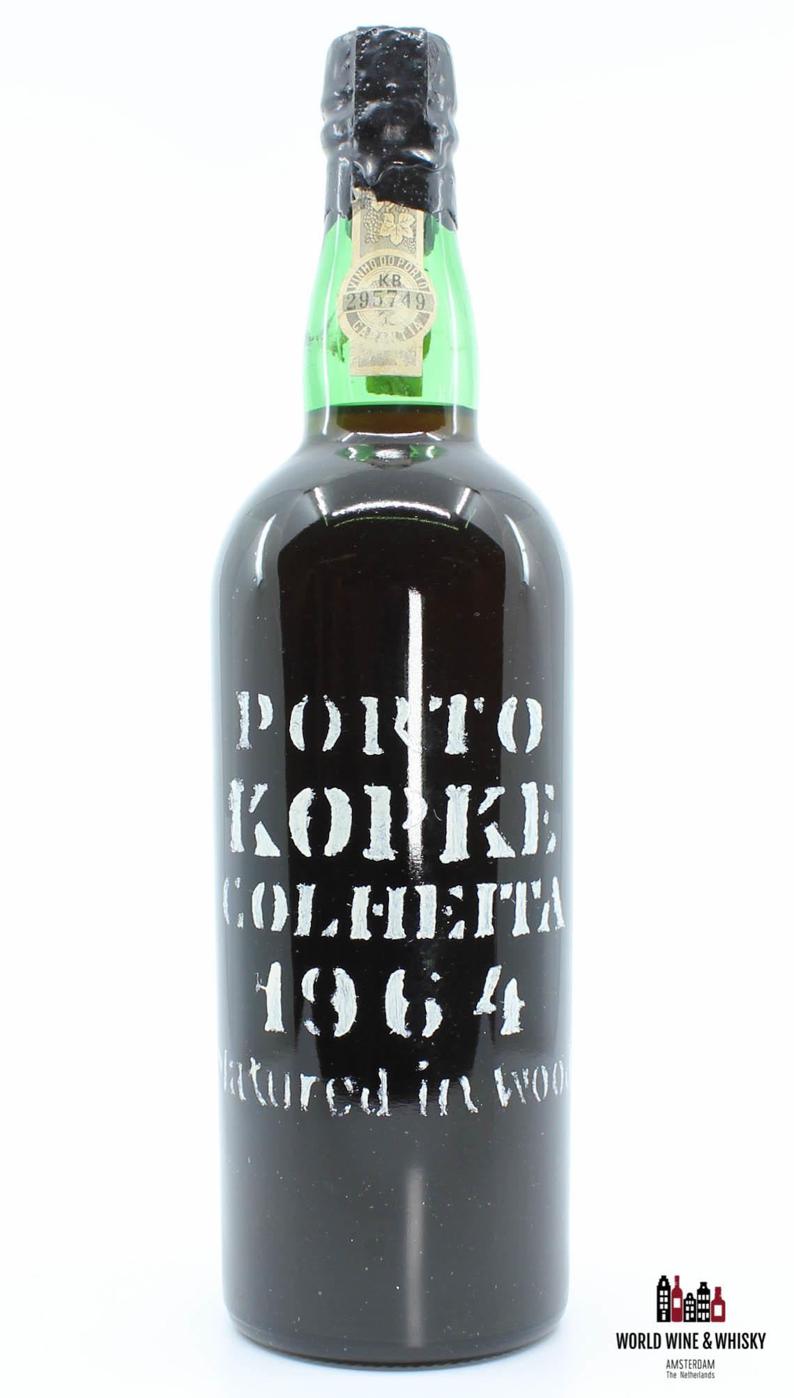 Kopke Porto Kopke Colheita 1964 (bottled in 1983) 20.5%