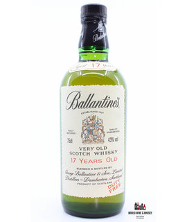 Ballantine's Ballantine's 17 Years Old - Very Old Scotch Whisky - Duty Free Edition 43% (750 ml)