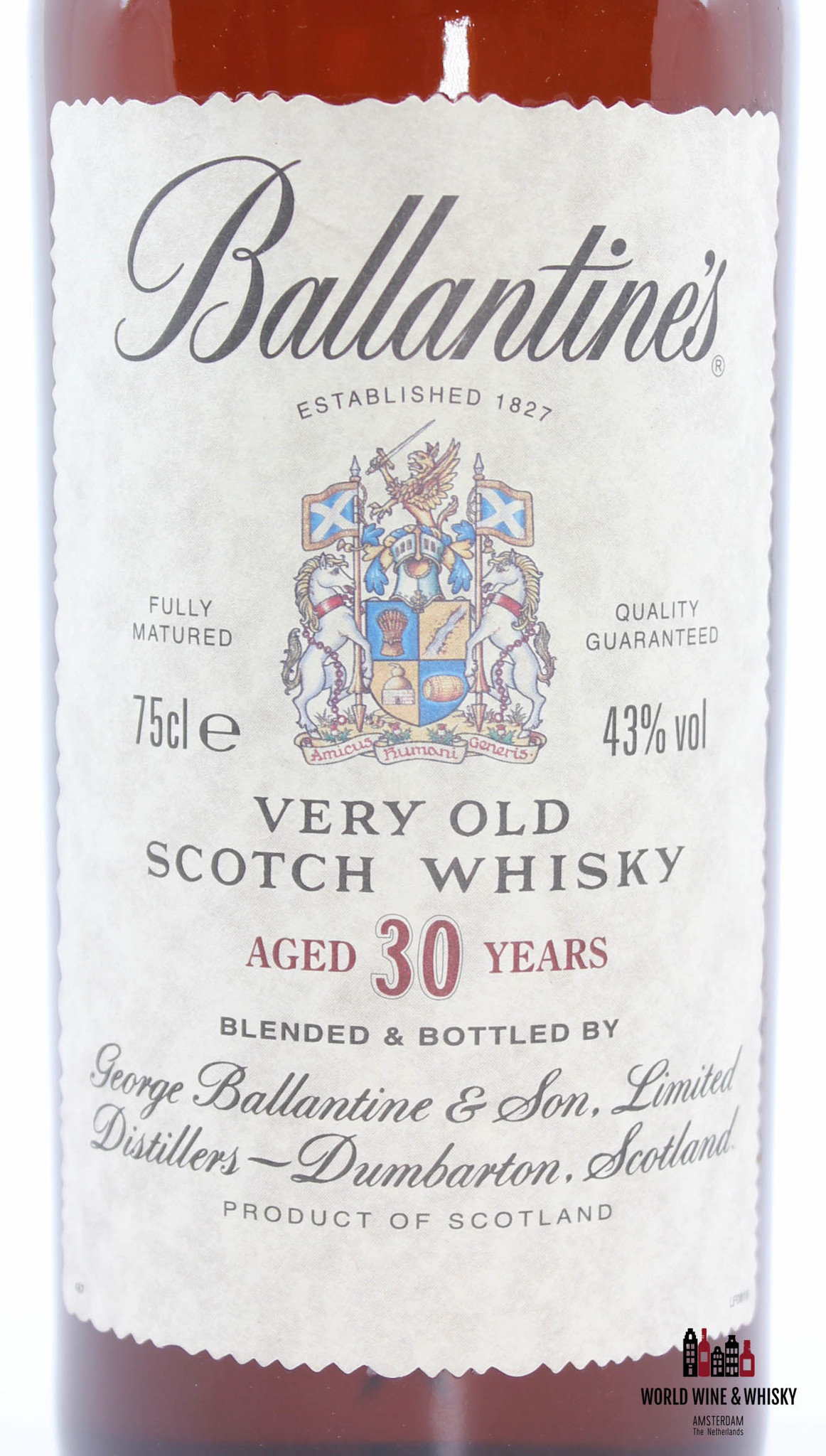 Ballantine's Ballantine's 30 Years Old - Very Old Scotch Whisky 43% 750 ml (90's bottling)
