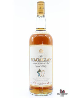 Macallan Macallan 7 Years Old Sherry Oak -  Giovinetti & Figli Import 40% 1 Litre (1000 ml)