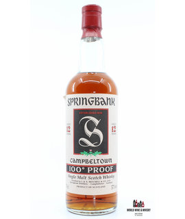 Springbank Springbank 12 Years Old 100° Proof - Green Thistle 57% (700 ml)