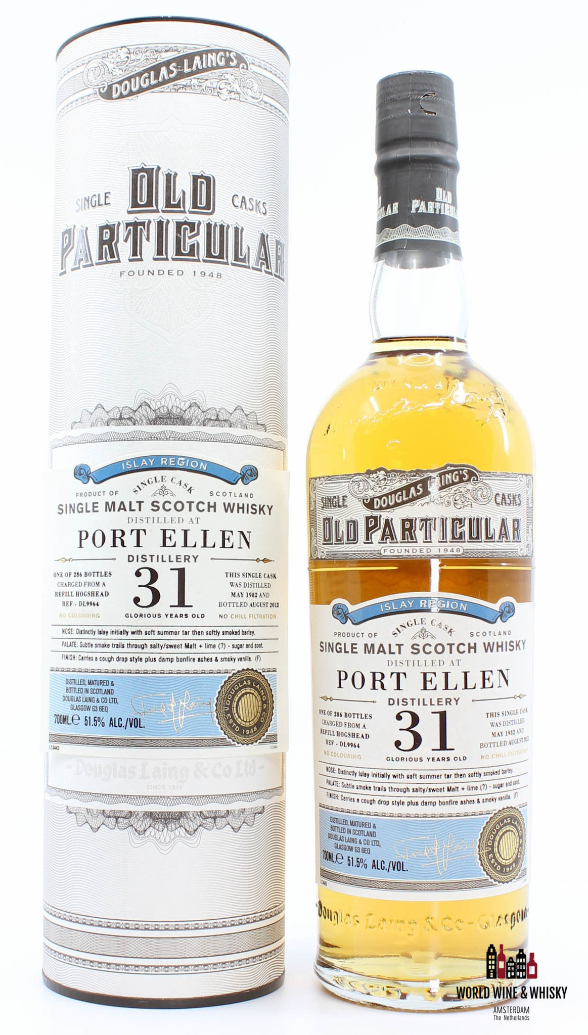 Port Ellen Port Ellen 31 Years Old 1982 2013 DL9964 Douglas Laing 51.5%