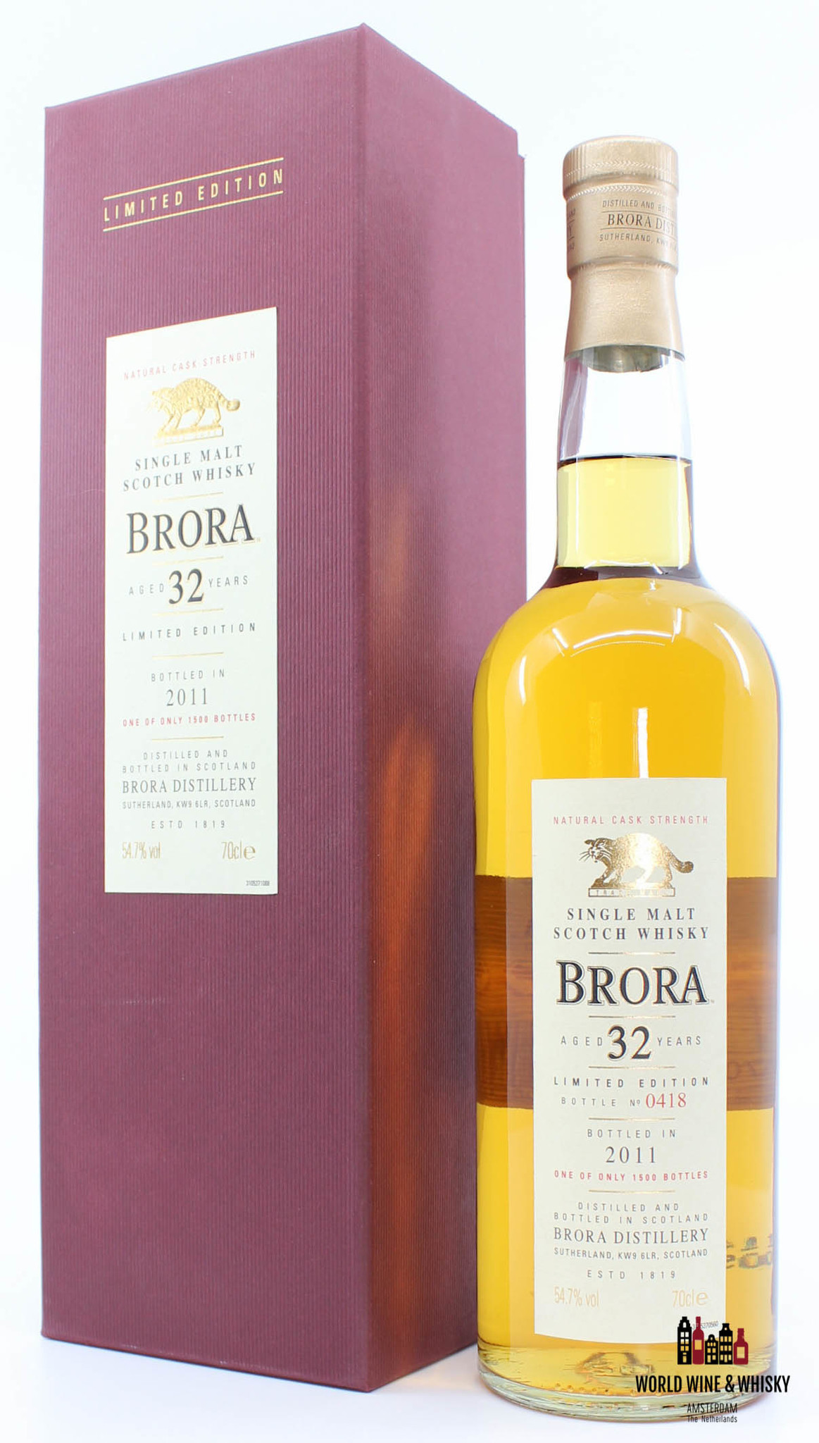 Brora Brora 10th Release 32 Years Old 1978 2011 Limited Edition 54.7%
