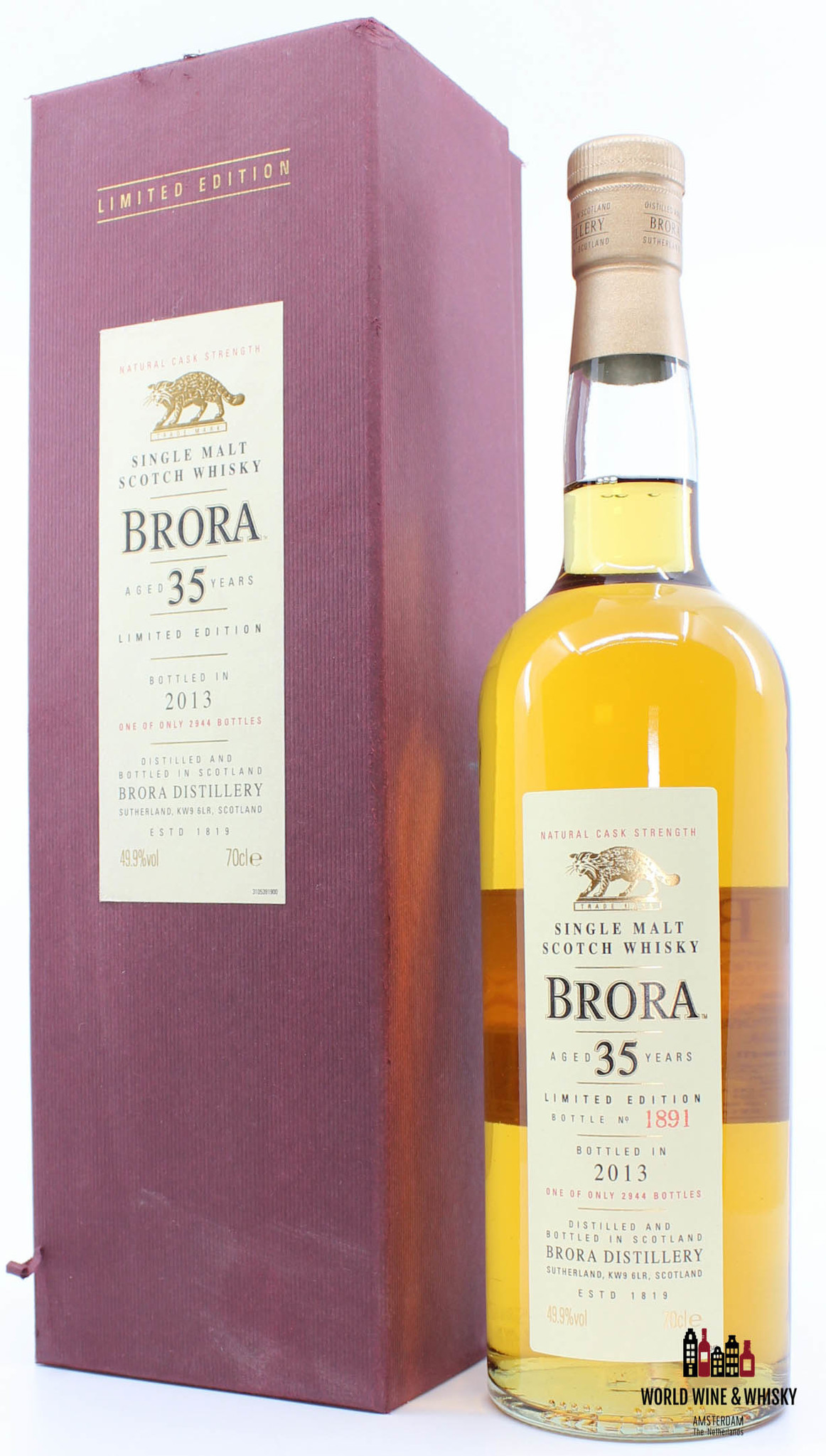 Brora Brora 12th Release 35 Years Old 1977 2013 Limited Edition 49.9%
