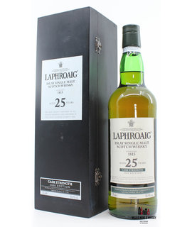 Laphroaig Laphroaig 25 Years Old 1983 2008 Cask Strength Edition 50.9%