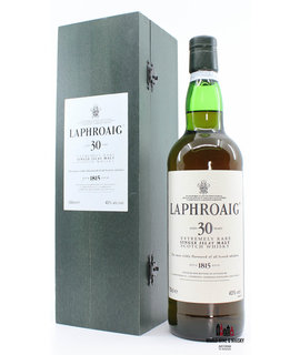 Laphroaig Laphroaig 30 Years Old Extremely Rare 43% 700ml (with wooden case)