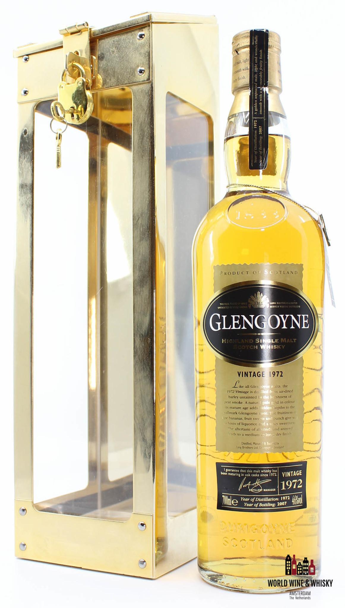 Glengoyne Glengoyne 35 Years Old 1972 2007  Spirit Safe Edition 46%