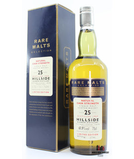 Hillside Hillside 25 Years Old 1969 1995 Rare Malts Selection 61.9% 750ml (in cardboard case)