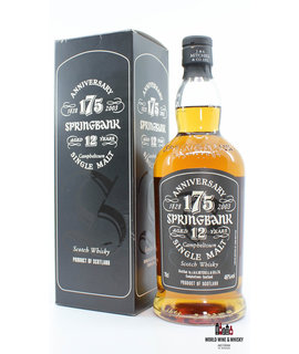 Springbank Springbank 12 Years Old 175th Anniversary 1828-2003 46%