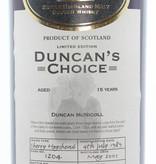 Glengoyne Glengoyne 15 Years Old 1989 2005 Duncan's Choice - Cask 1204 55.7%