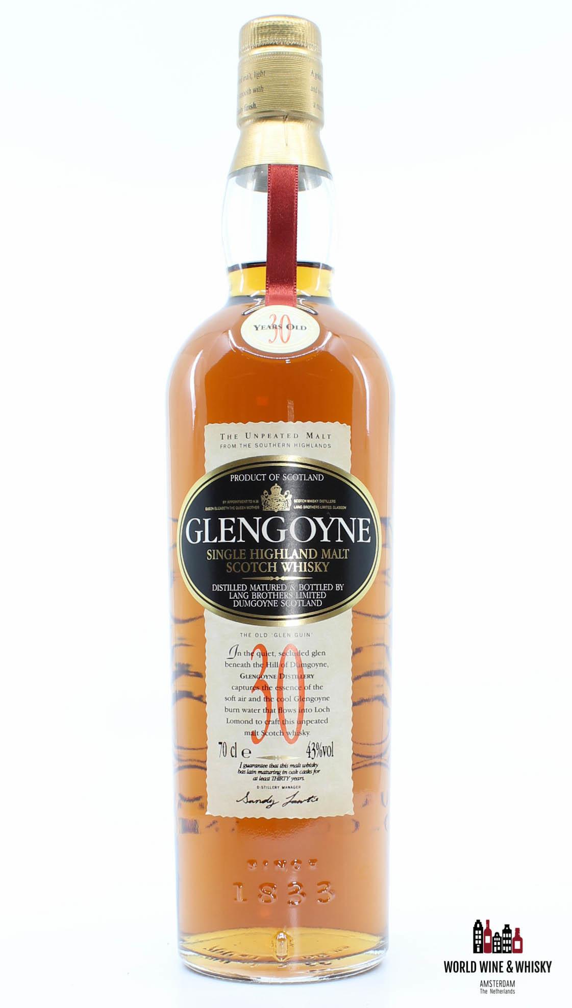 Glengoyne Glengoyne 30 Years Old 43% (in a big luxury wooden case)