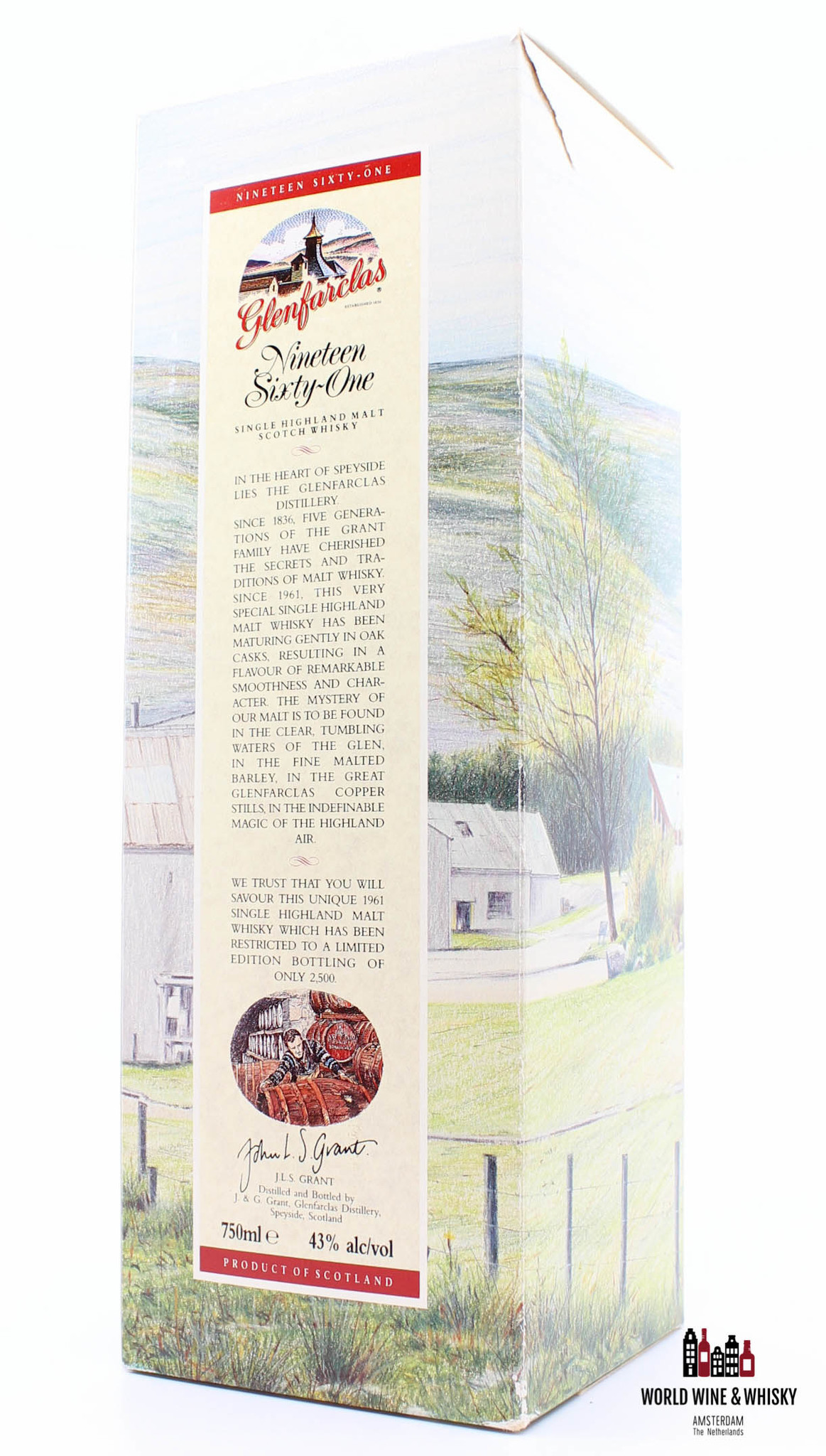 Glenfarclas Glenfarclas 1961 (Nineteen Sixty-One Edition) Limited Edition 43% 750 ml