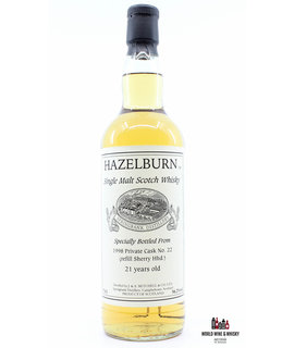 Springbank Hazelburn 21 Years Old 1998 2019 Private Cask No. 22 56.2% (Exclusive Private Bottling)