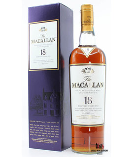 Macallan Macallan 18 Years Old 2017 Sherry Oak Casks 43% 750 ml USA (Sherry Cask)
