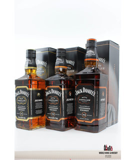 Jack Daniel's Jack Daniel's Distiller Series No 1, No 2, No 3, No 4, No 5, No 6 Limited Edition (full set)