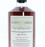 Springbank Springbank 20 Years Old 1997 2017 Whisky-Broker Cask 108 48.9%