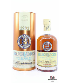 Bruichladdich Bruichladdich 16 Years Old 1991 2007 Port Cask Finish 46%