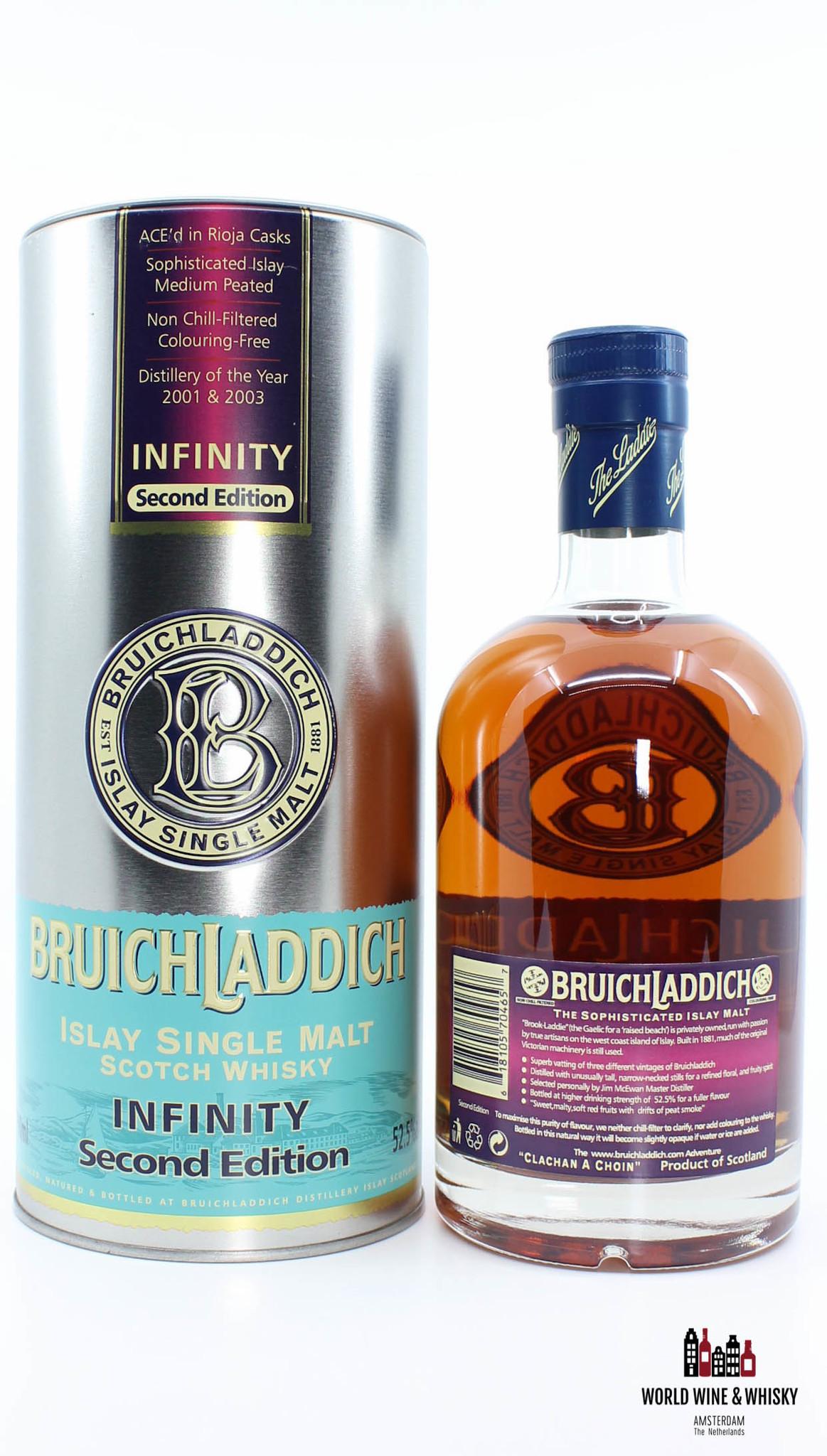 Bruichladdich Bruichladdich Infinity Second Edition 2007 52.5% 700 ml
