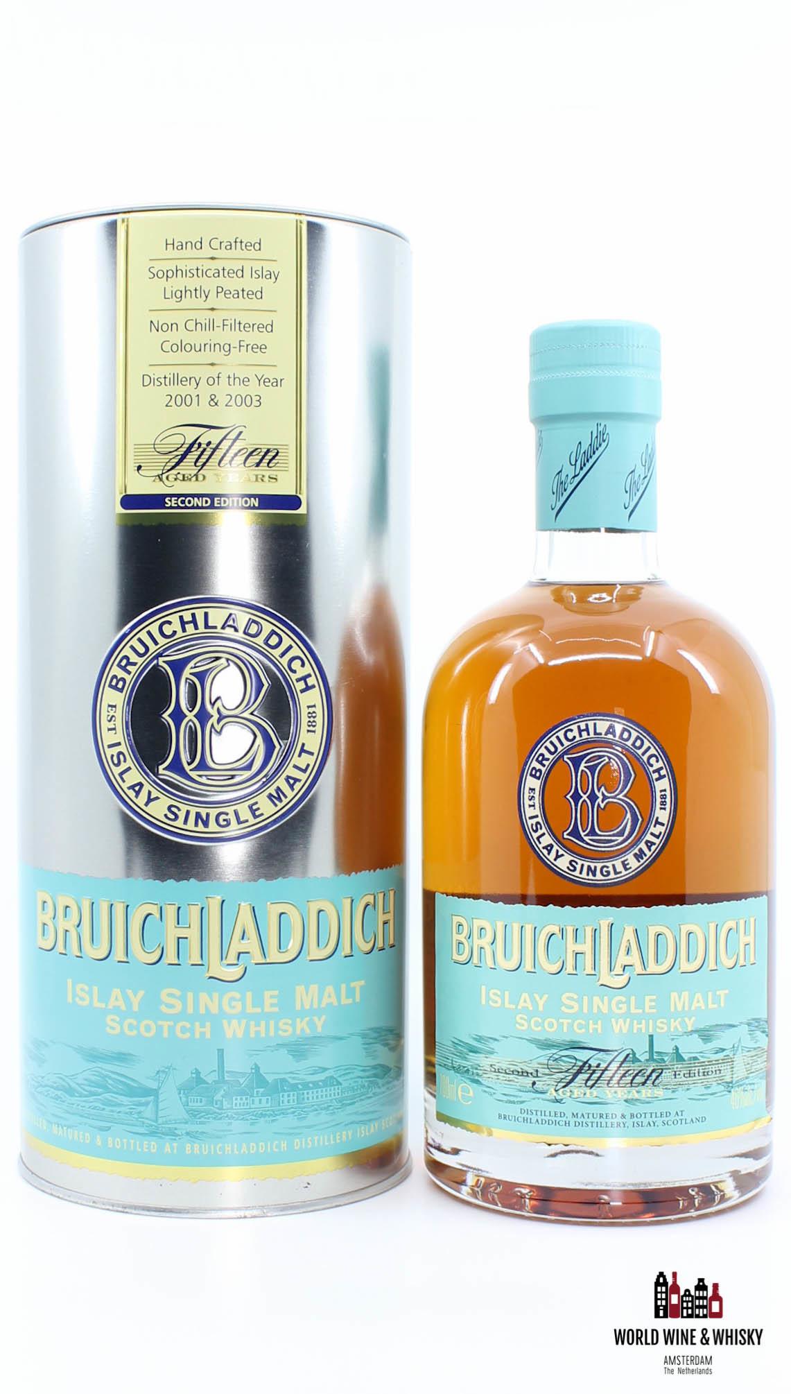 Bruichladdich Bruichladdich 15 Years Old 1993 2008 Second Edition 46% 700 ml