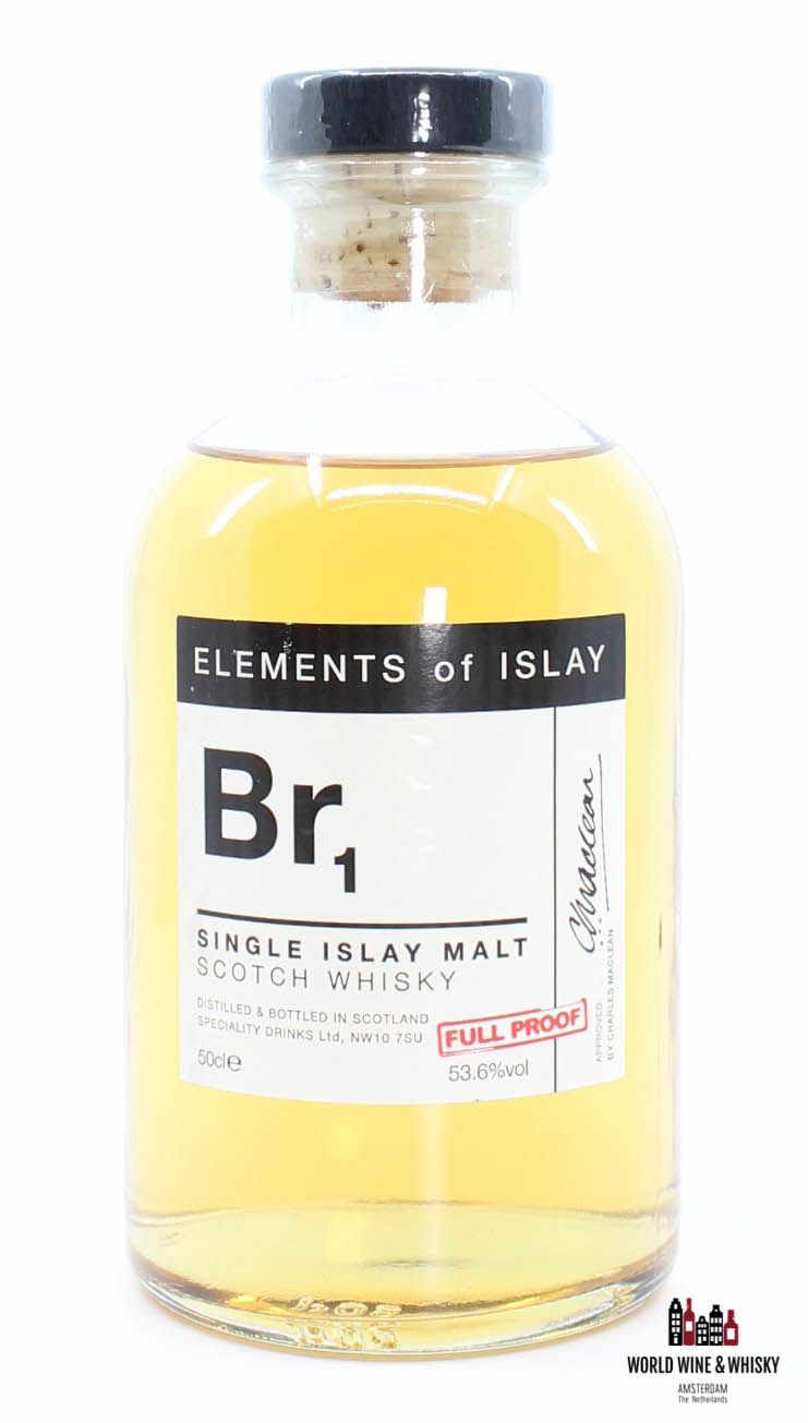 Bruichladdich Br1 Elements of Islay Bruichladdich 53.6% 500 ml