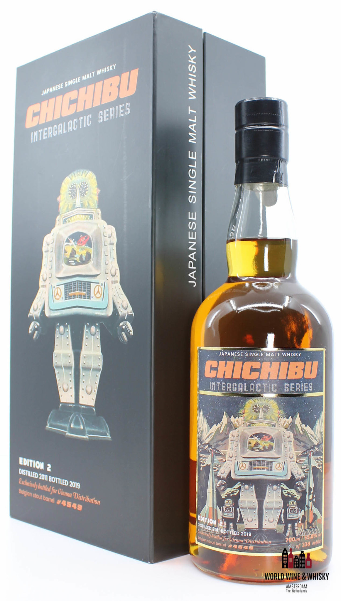Chichibu Chichibu Intergalactic Series - Edition 2 - 8 Years Old 2011 2019 Cask 4549 55.8%