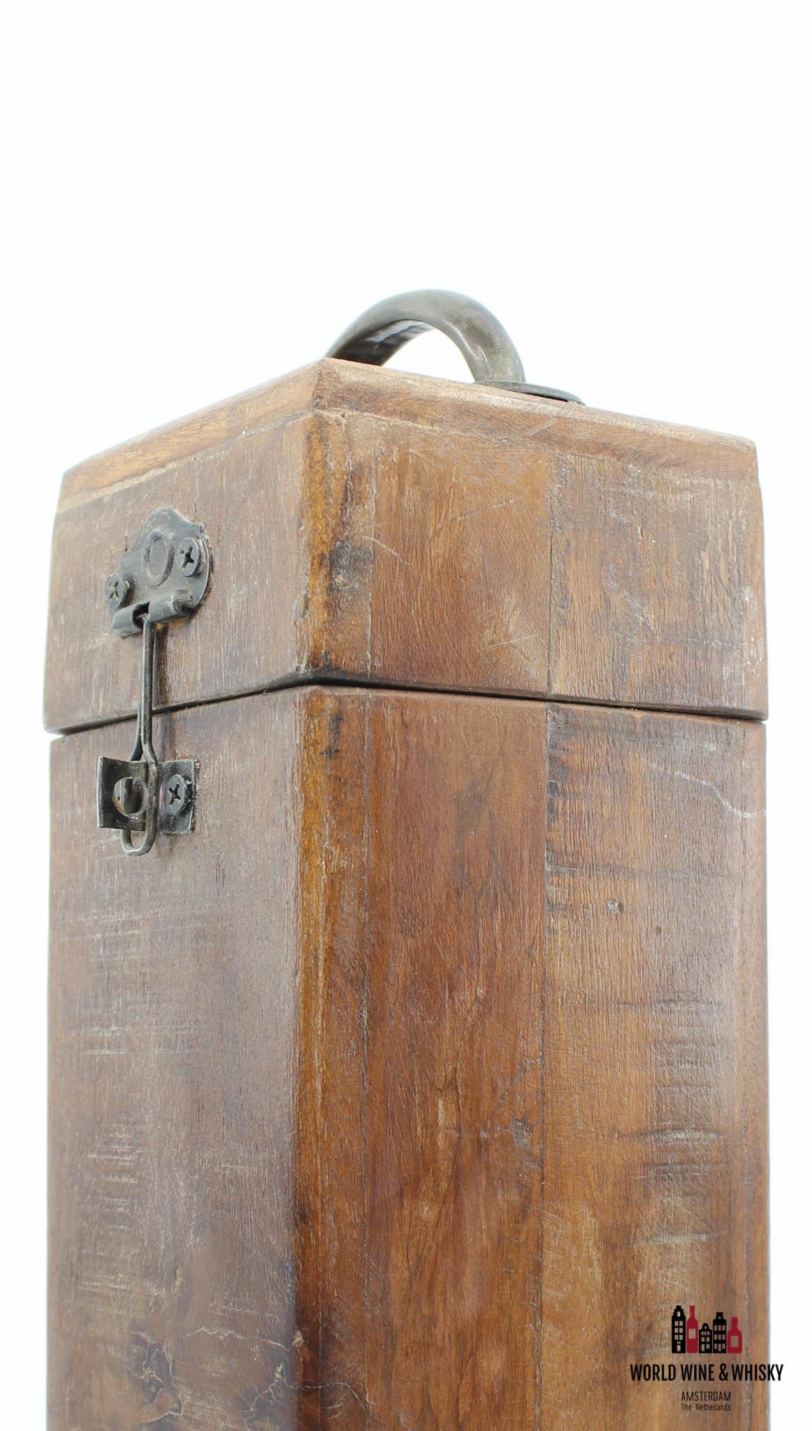 Giftbox Luxury wooden wine or whisky giftbox (1 bottle)