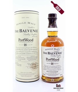 Balvenie The Balvenie 21 Years Old PortWood (Port Casks) 40%