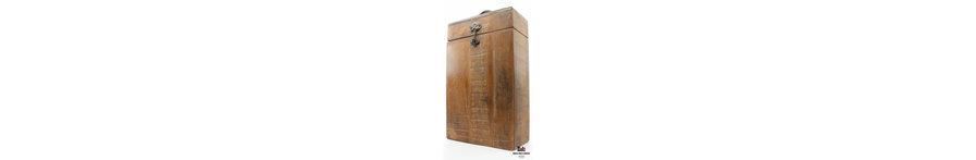 Luxe en handgemaakte houten geschenkdozen/geschenkkisten