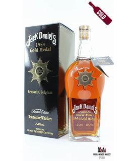 Jack Daniel's Jack Daniel's 1954 Gold Medal - Brussels Belgium 43% 1,0L