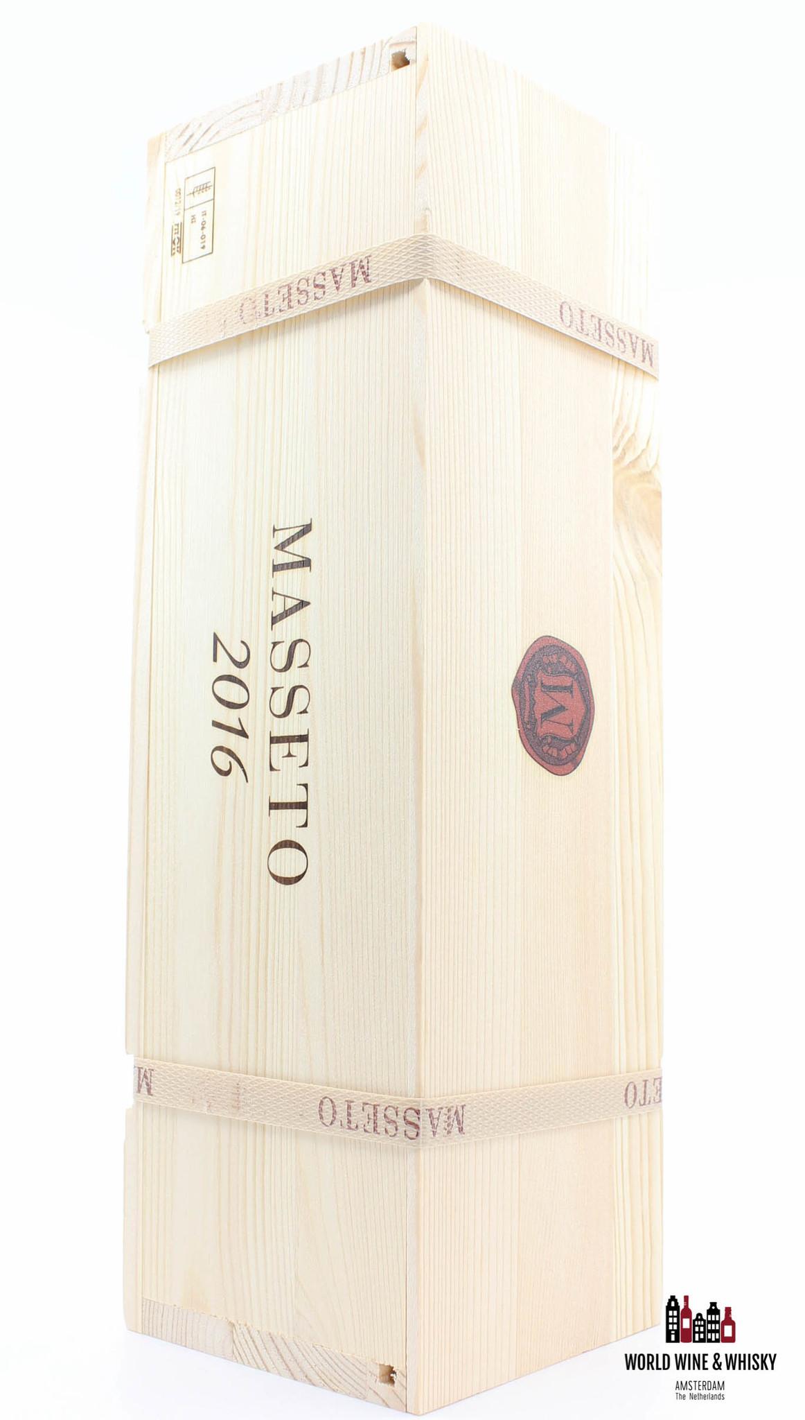 Masseto Tenuta dell Ornellaia Masseto 2016 (1-bottle OWC)