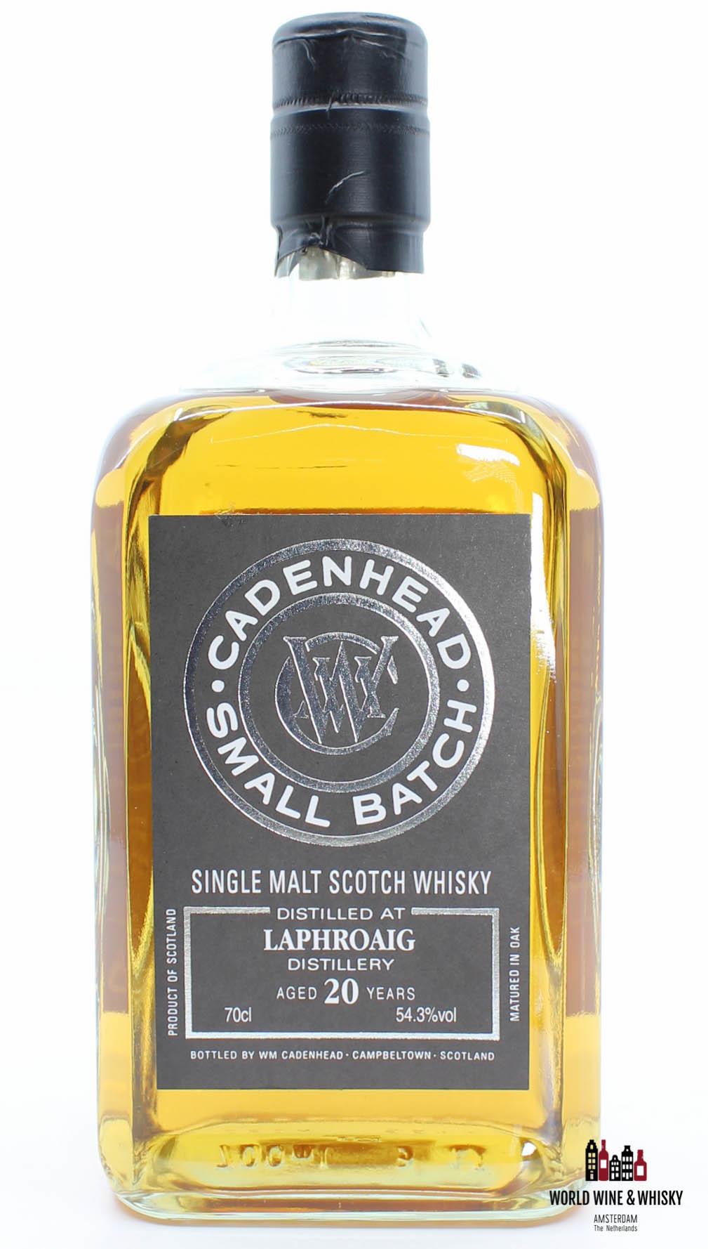 Laphroaig Laphroaig 20 Years Old 1998 2018 Cadenhead - Small Batch 54.3% (one of 474 bottles)
