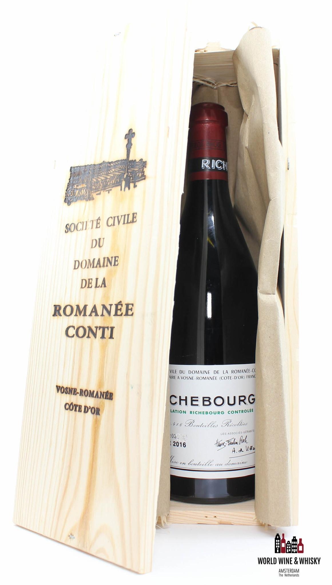 Domaine de la Romanée Conti Domaine de la Romanee-Conti (DRC) Richebourg 2016 (in OWC)