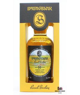Springbank Springbank 10 Years Old 2009 2019 Local Barley 56.2%