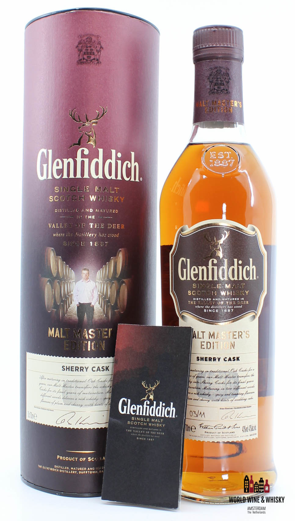 Glenfiddich Glenfiddich 2011 Malt Master's Edition - Batch 03/11 Sherry Cask 43%