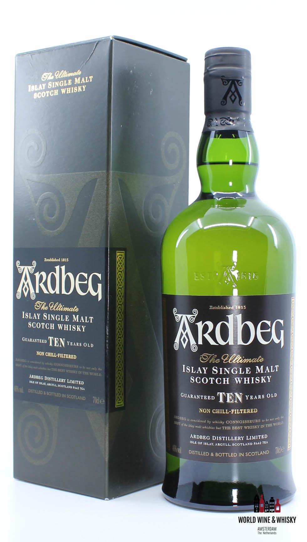 Ardbeg Ardbeg Ten - 10 Years Old 2015 Ardbeg Distillery Limited 46%