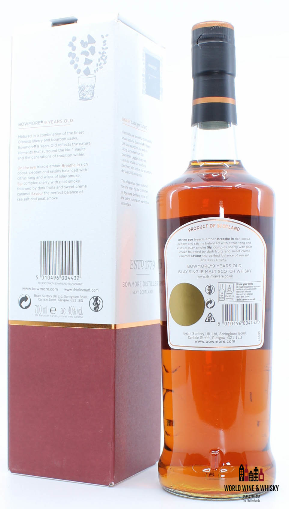 Bowmore Bowmore 9 Years Old 2007 2016 Sherry Oak Matured - Limited Edition 40%
