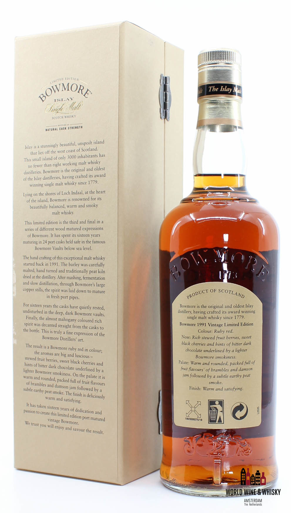 Bowmore Bowmore 16 Years Old 1991 2007 Limited Edition 53.1%
