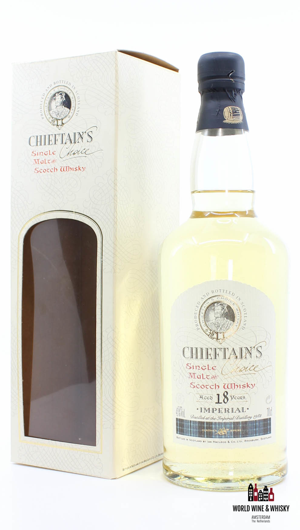 Imperial Imperial 18 Years Old 1982 2000 Chieftain's Choice - Ian Macleod 43% (Closed Distillery)