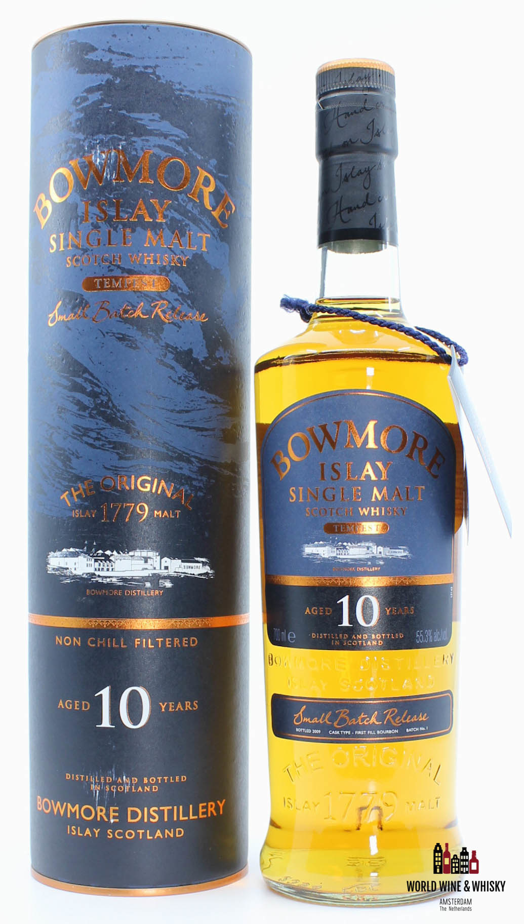 Bowmore Bowmore 10 Years Old Tempest - Small Batch Release No. 1 55.3%
