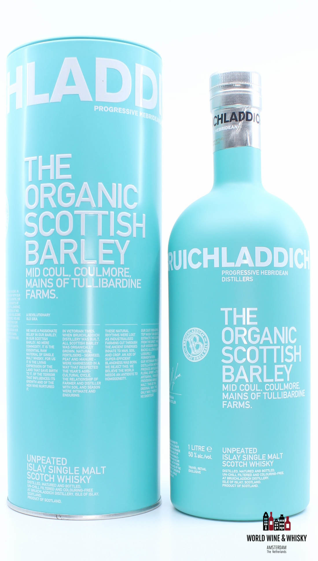 Bruichladdich Bruichladdich The Organic Scottish Barley 2014 - Travel Retail Exclusive 50% 1 Litre