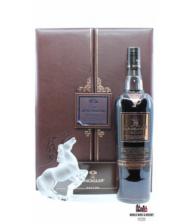 Macallan Macallan Oscuro - Lalique Rearing Kazak Horse - Travel Retail Exclusive 46.5% (one of 300 sets)