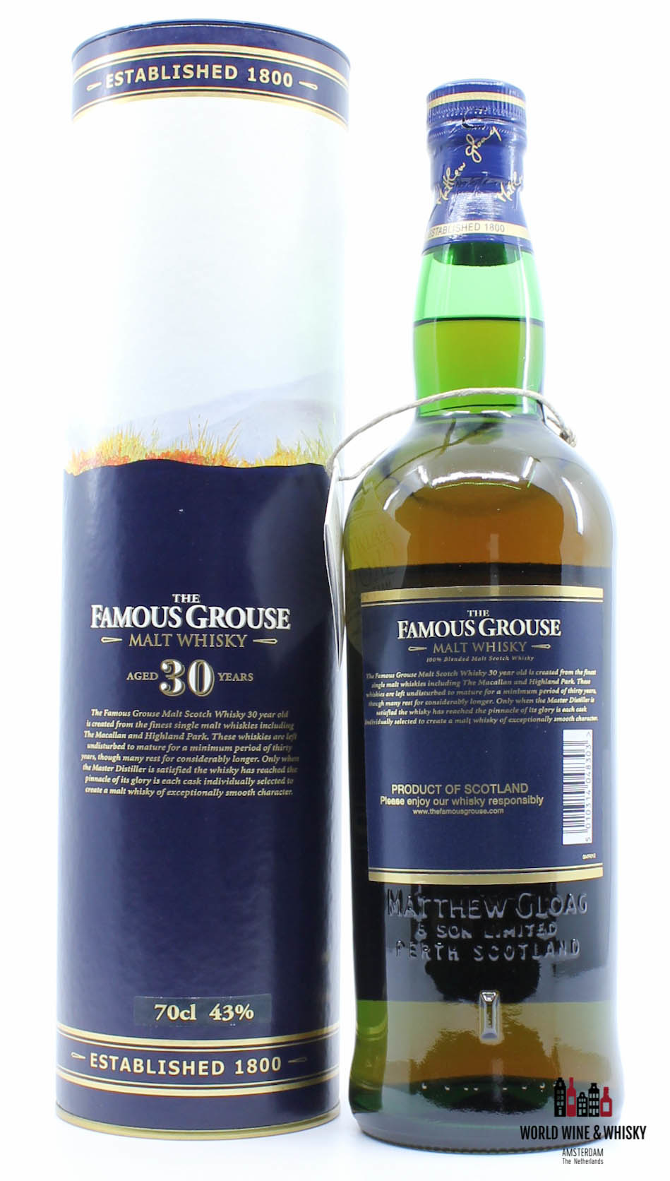 Famous Grouse The Famous Grouse 30 Years Old - Malt Whisky 43%