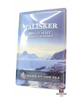 Talisker Iron Talisker billboard plate sign