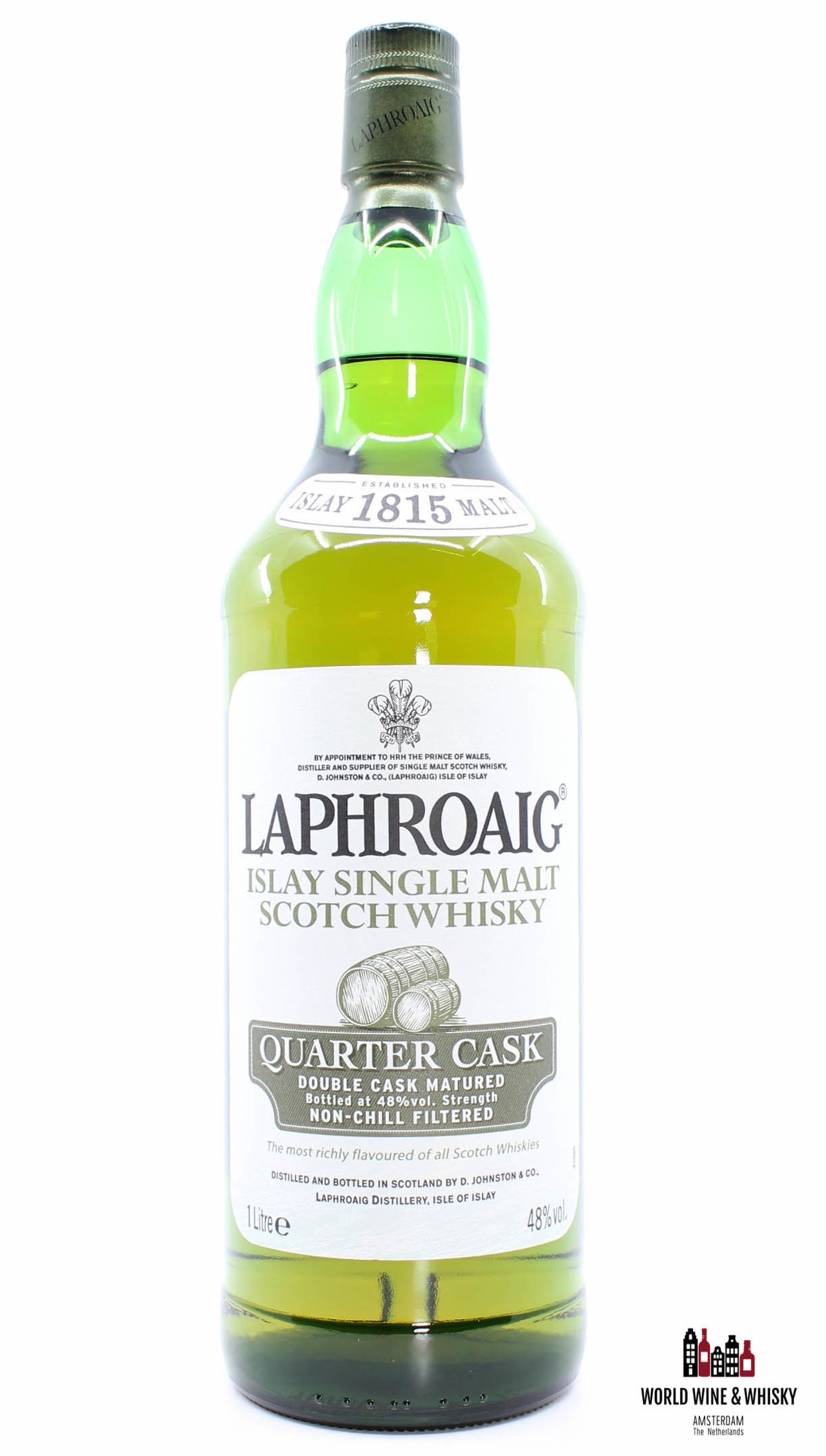 Laphroaig Laphroaig Quarter Cask - Double Cask Matured 48% 1 Litre (1000ml)