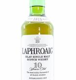 Laphroaig Laphroaig 10 Years Old - Islay Single Malt Scotch Whisky - Old Label 1 Litre (1000ml)