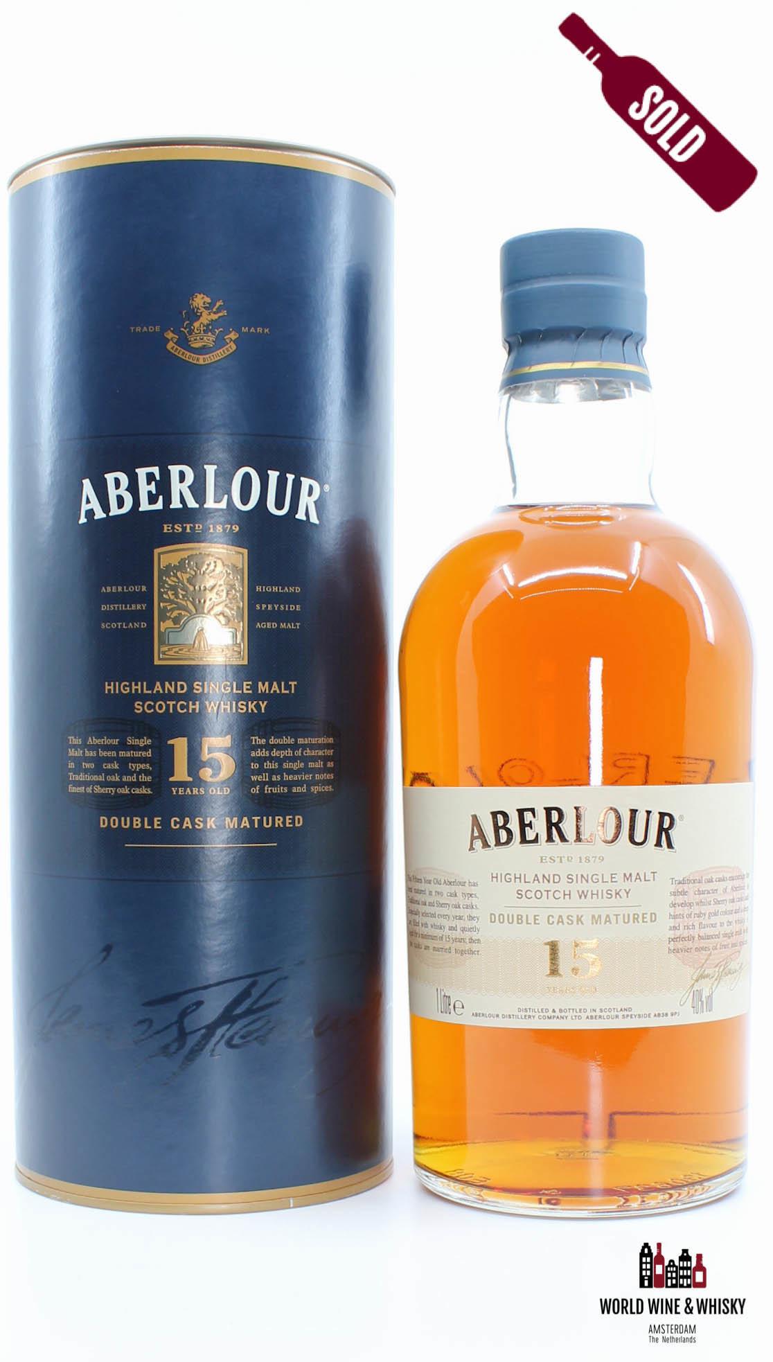 Aberlour Aberlour 15 Years Old 2015 Double Cask Matured 40% (1 Litre)