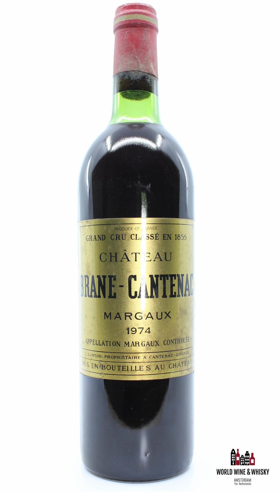 Brane Cantenac Chateau Brane-Cantenac 1974 Margaux (Grand Cru Classe)