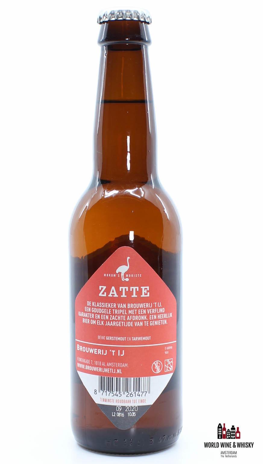 Brouwerij 't IJ Brouwerij 't IJ Zatte 8% 33cl (Bier uit Amsterdam)
